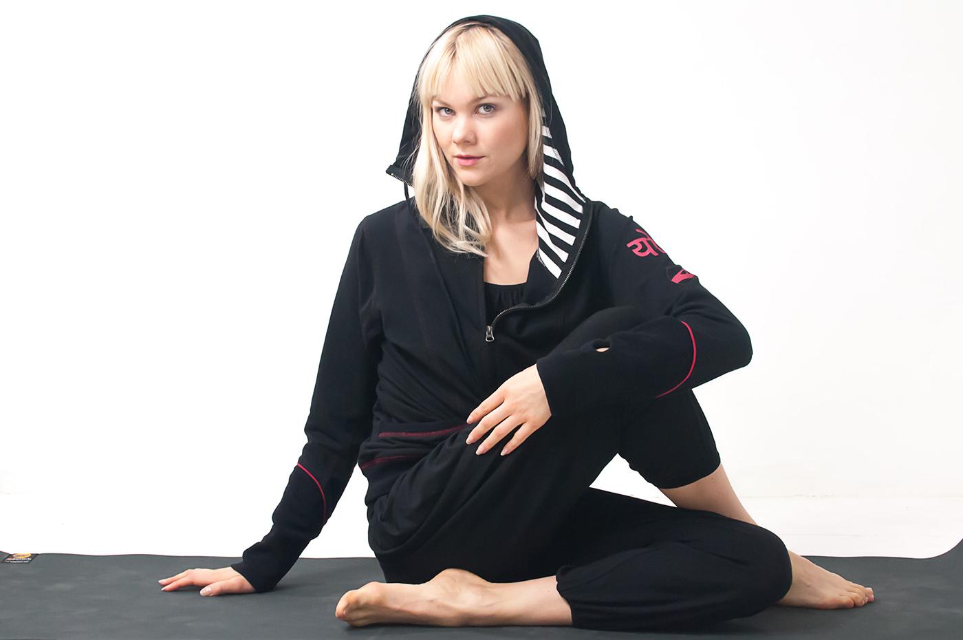 Cool Down Yoga OM Hoody
