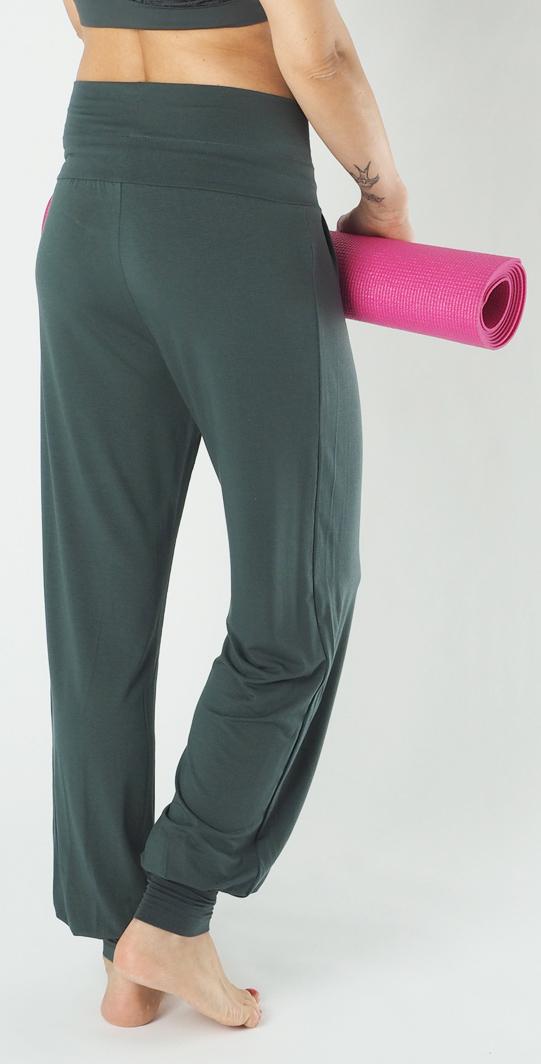"Yoga-Pant long ""Padmini"", olive"