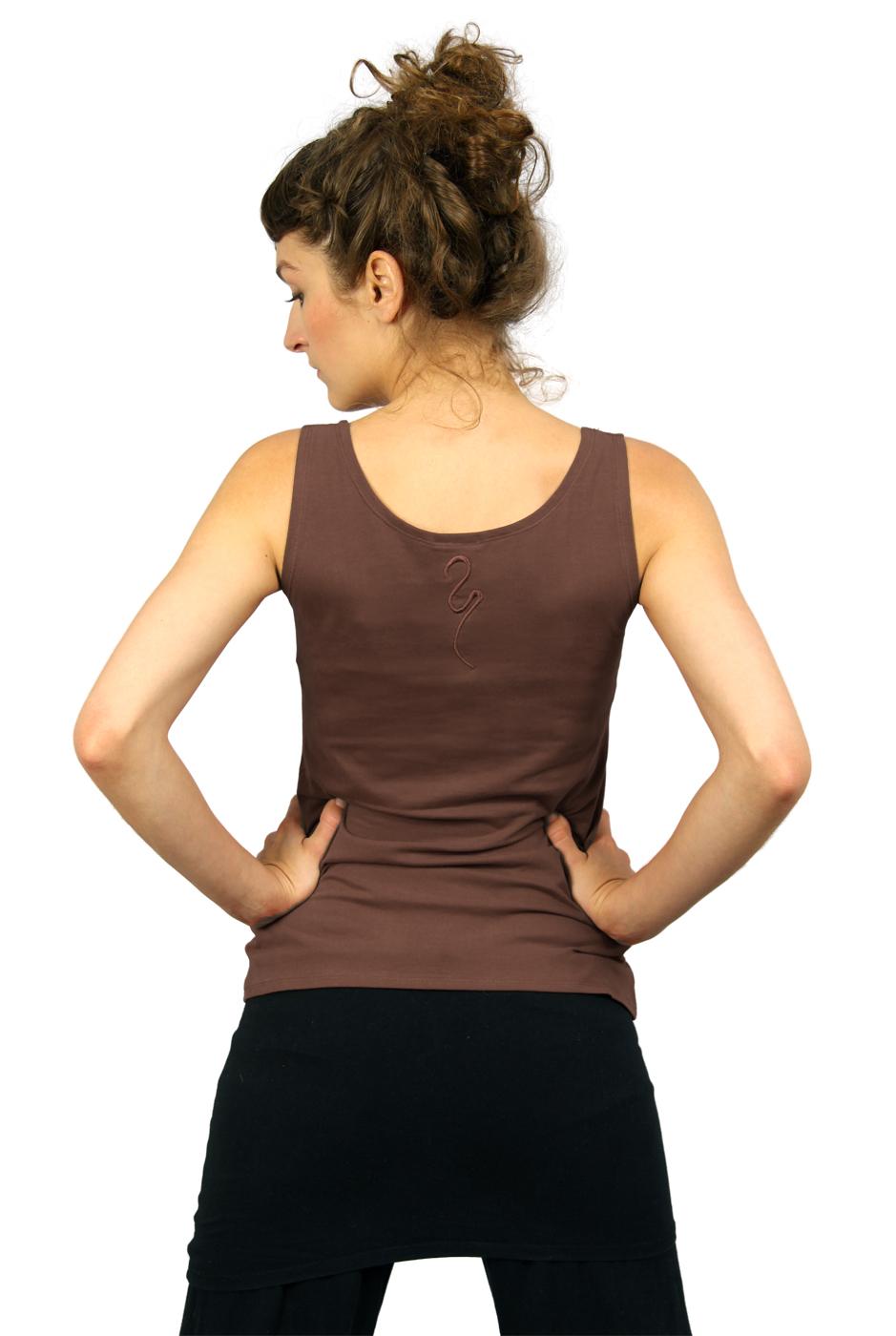 """Yoga-Top """"Sohang"""" - mocca"""