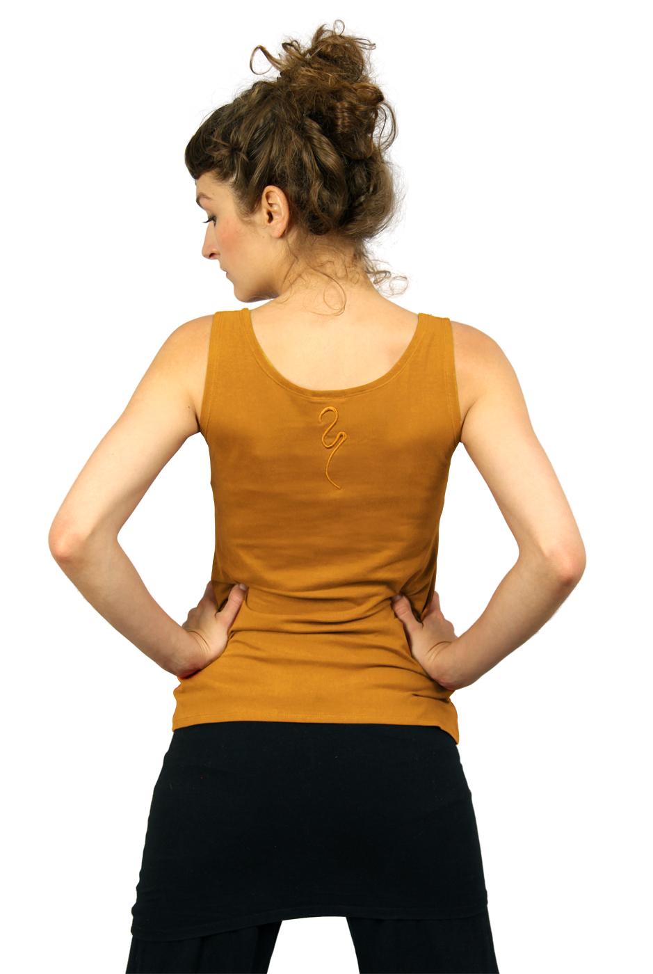 "Yoga-Top ""Sohang"" - safran"