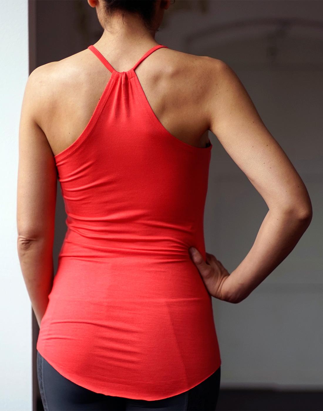 "Yoga-Tank ""Sita"", bright red"