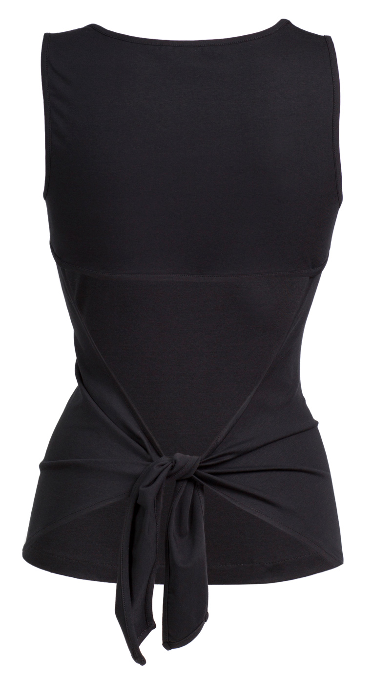 "Top ""Open Back"" - black"
