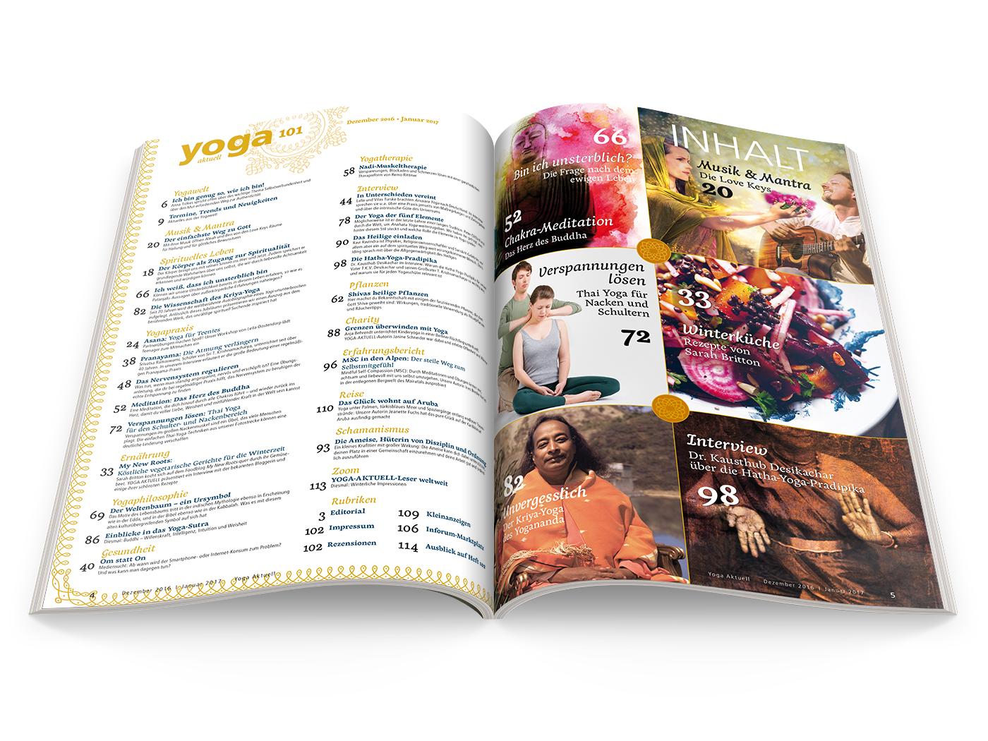 Yoga Aktuell 101 - 06/2016