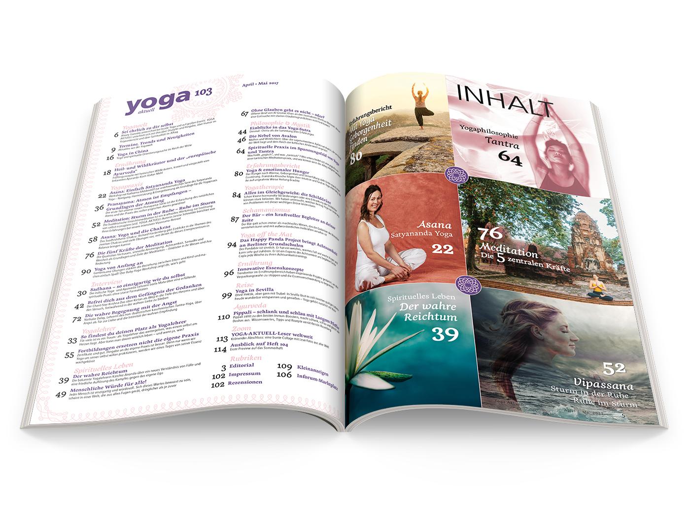 Yoga Aktuell 103 - 02/2017