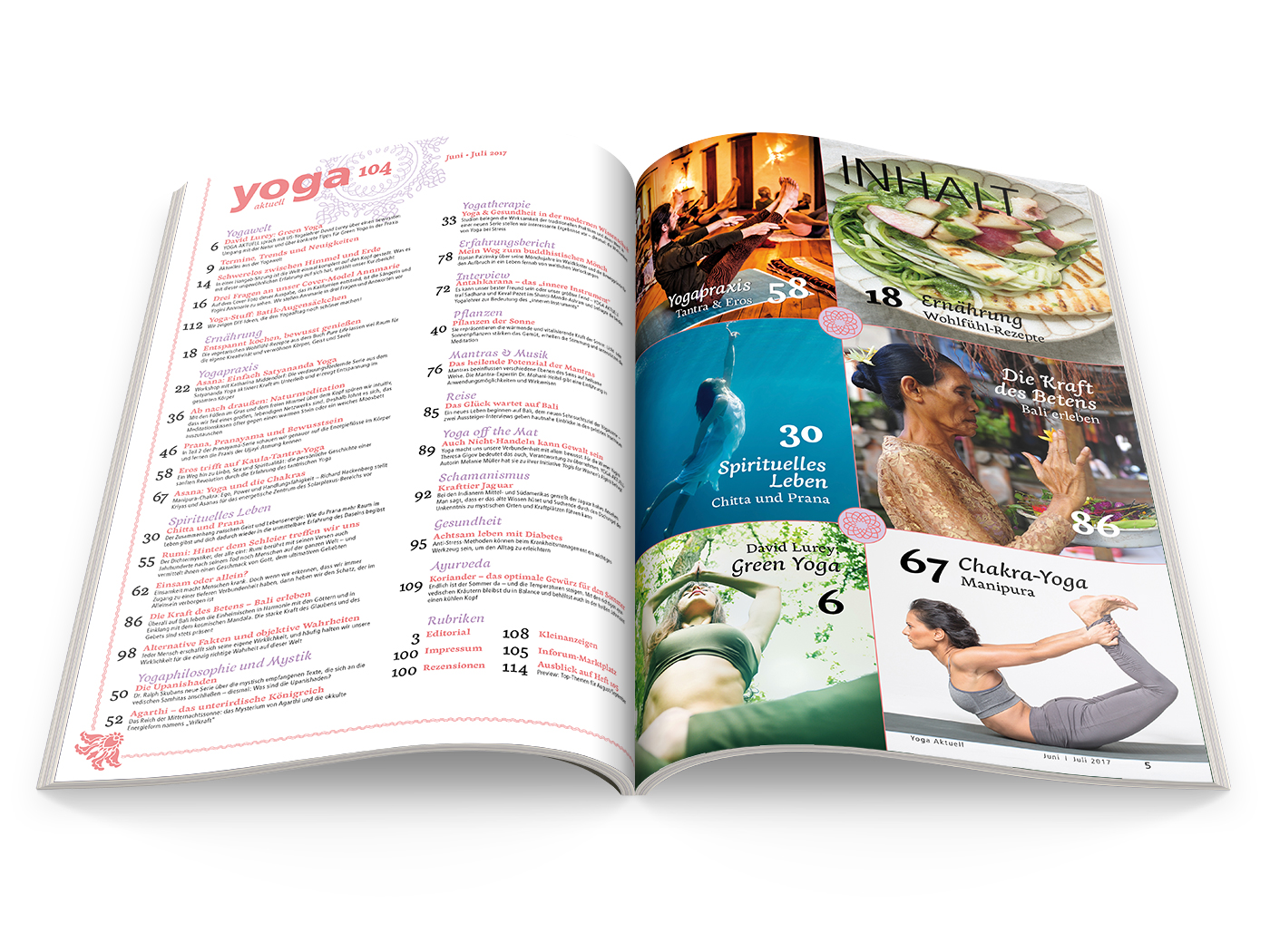 Yoga Aktuell 104 - 03/2017