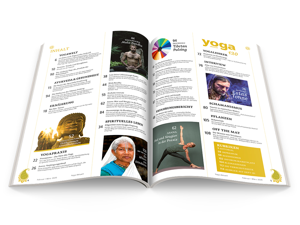 Yoga Aktuell 120 - 01/2020