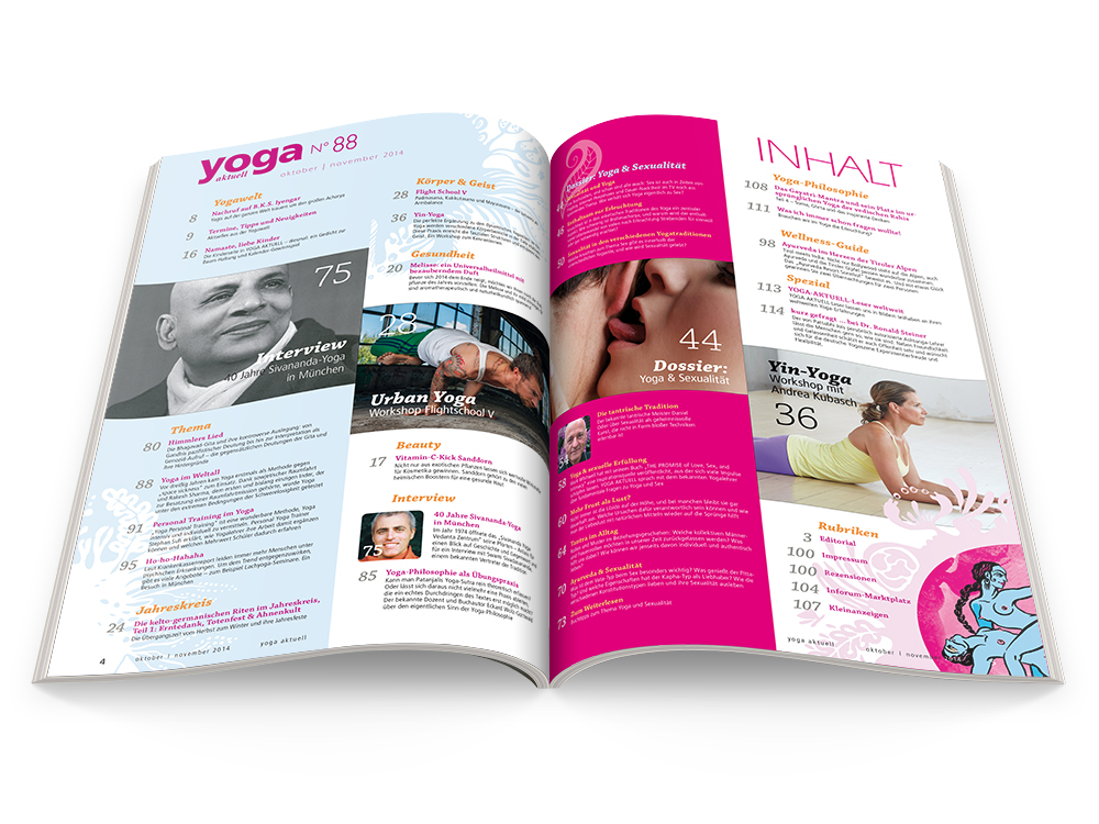Yoga Aktuell 88 - 05/2014
