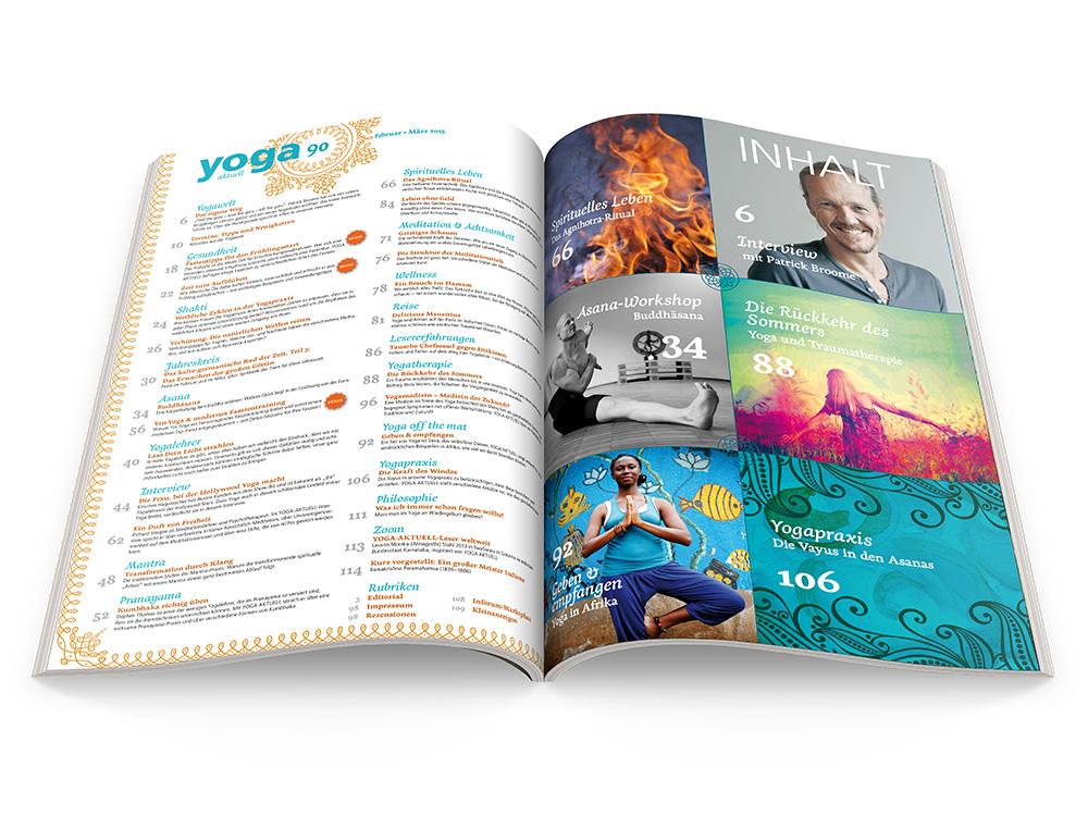 Yoga Aktuell 90 - 01/2015