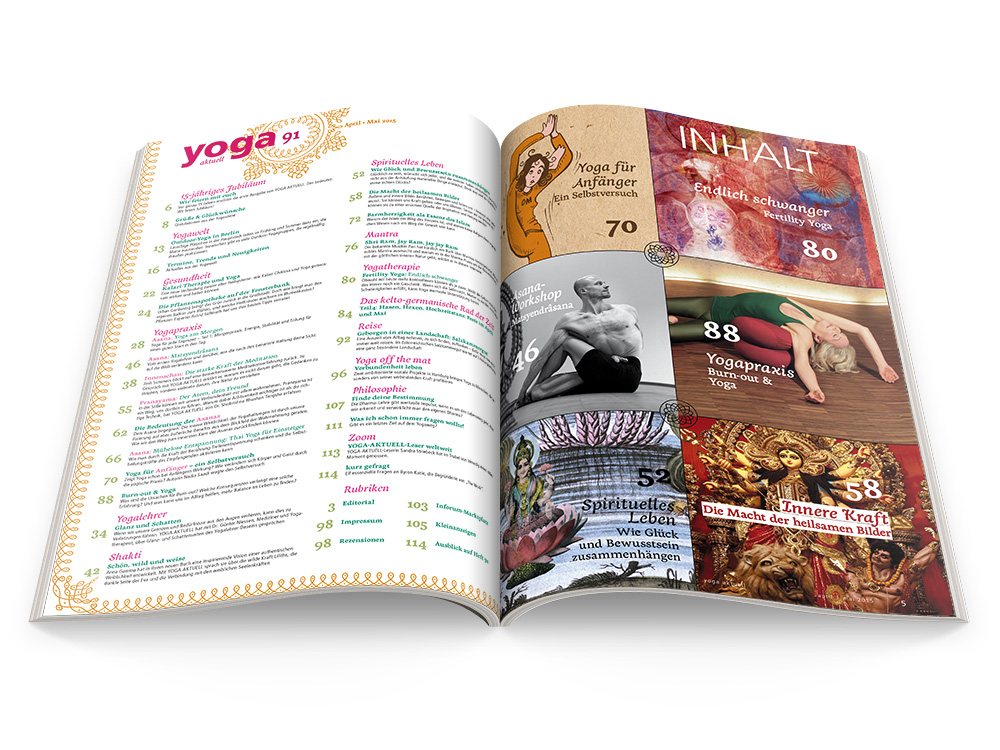 Yoga Aktuell 91 - 02/2015