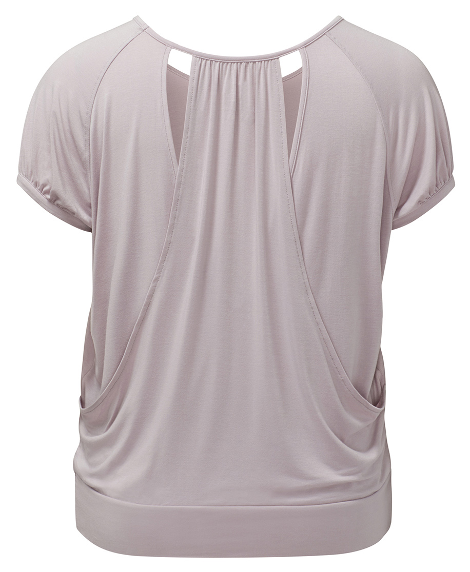 Yoga Curves Collection Fancy Shirt - rose