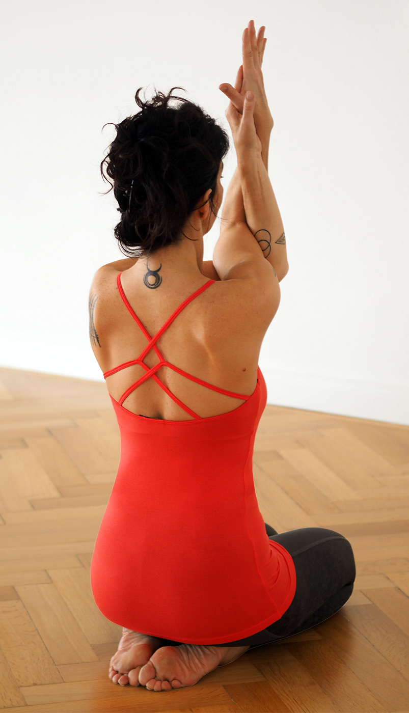 "Yoga-Tank ""Kali"", bright red"