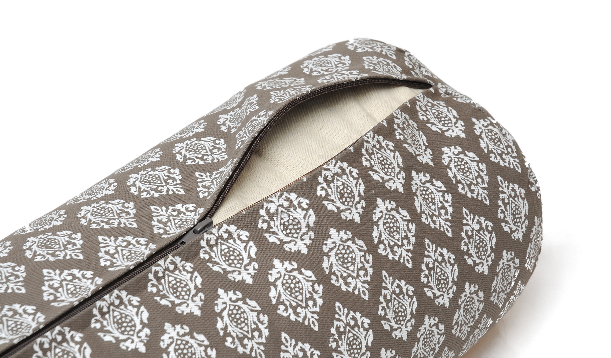 Yoga-Bolster - rund - vintage - cotton