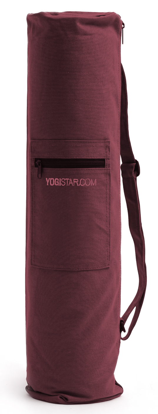 Yogatasche basic - zip - cotton - big - 72 cm