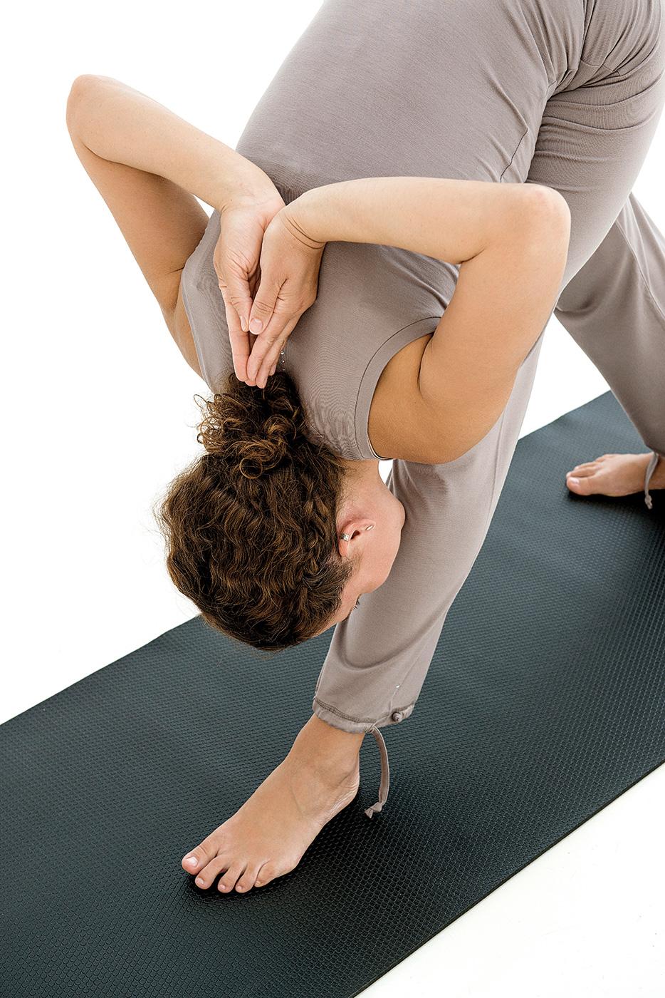 Esterilla de yoga stira, deluxe - negra