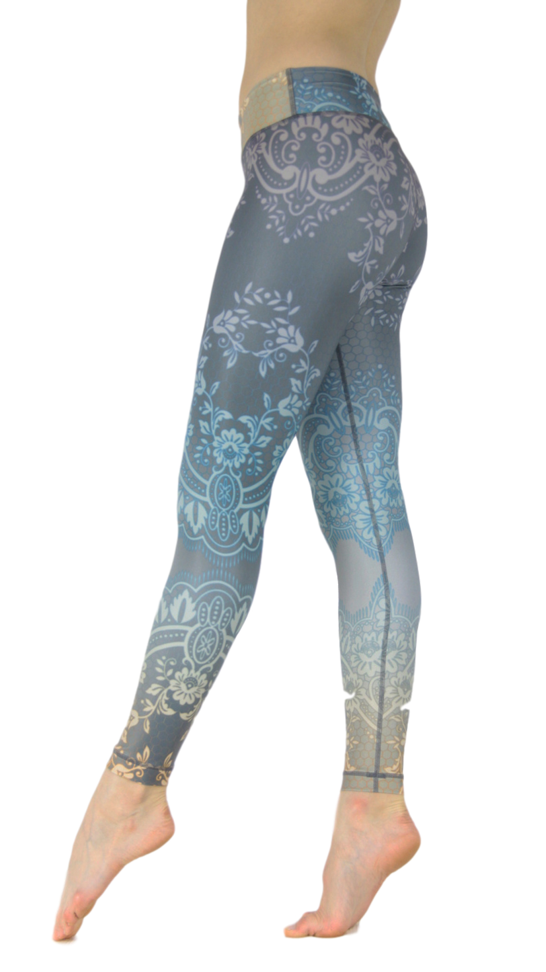 "Yoga-Leggings ""Golden Girl"""
