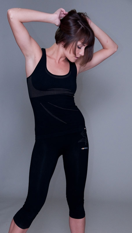 Yoga OM vest - black