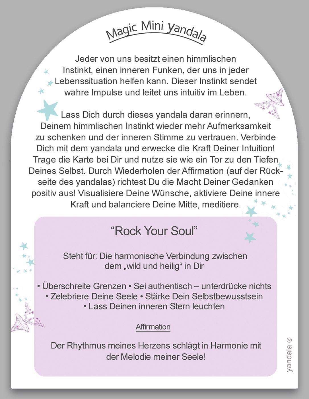 "Mini-Yandala - ""Rock your soul"""
