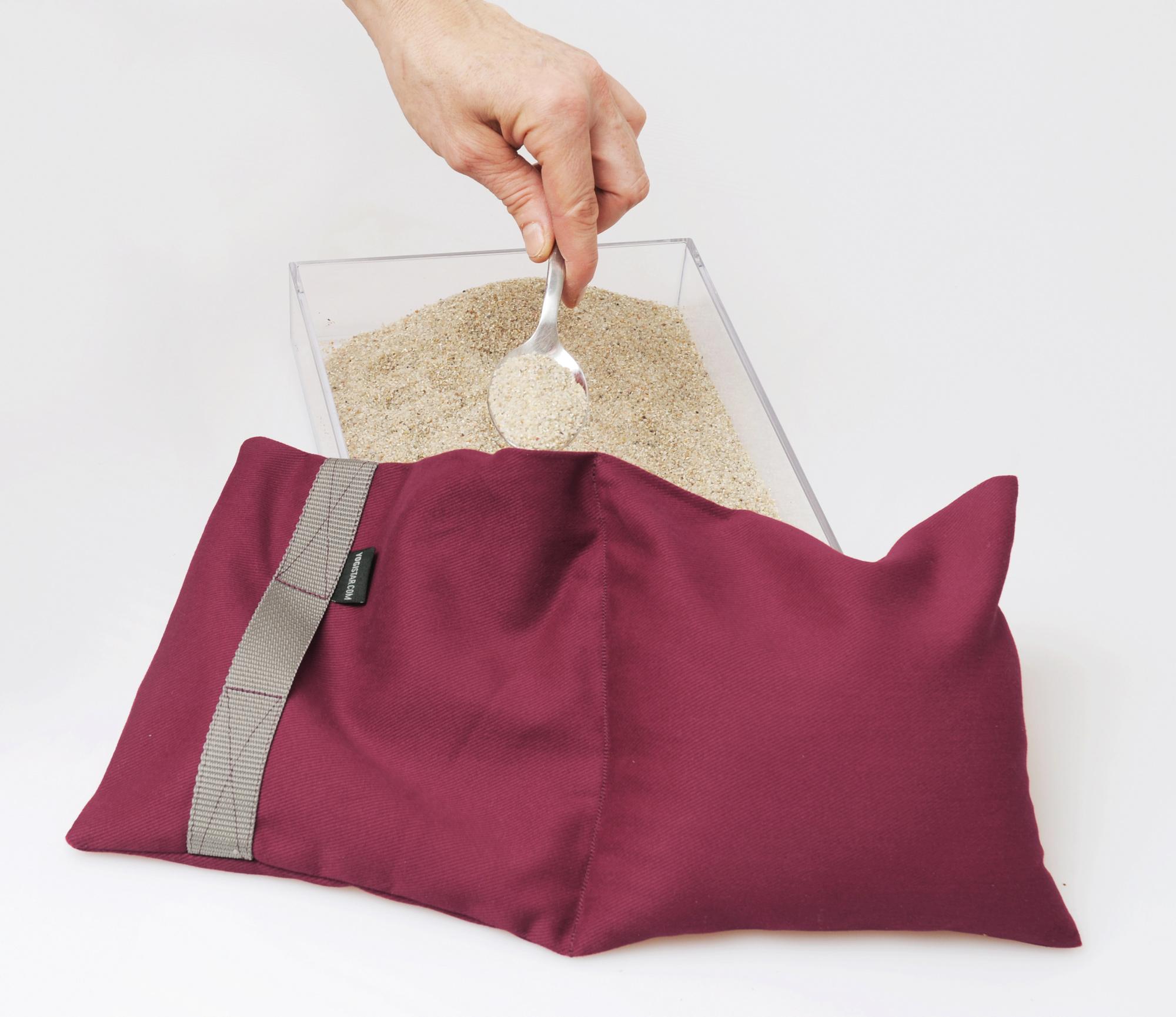 Yoga-Sandsack - 4 kg
