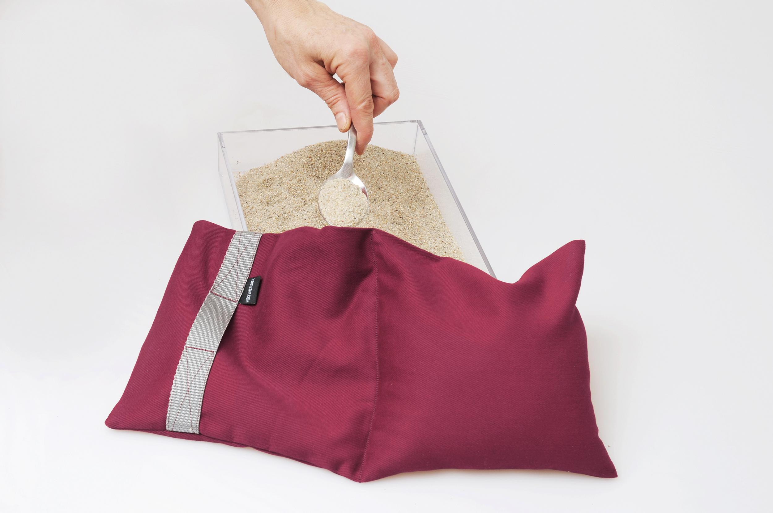 Yoga-Sandsack balanced