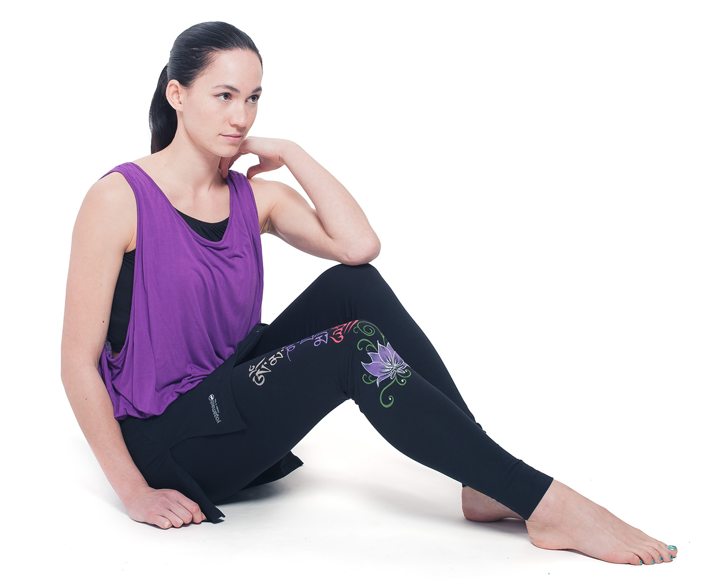 Womens wonder support Tank, one size - purple