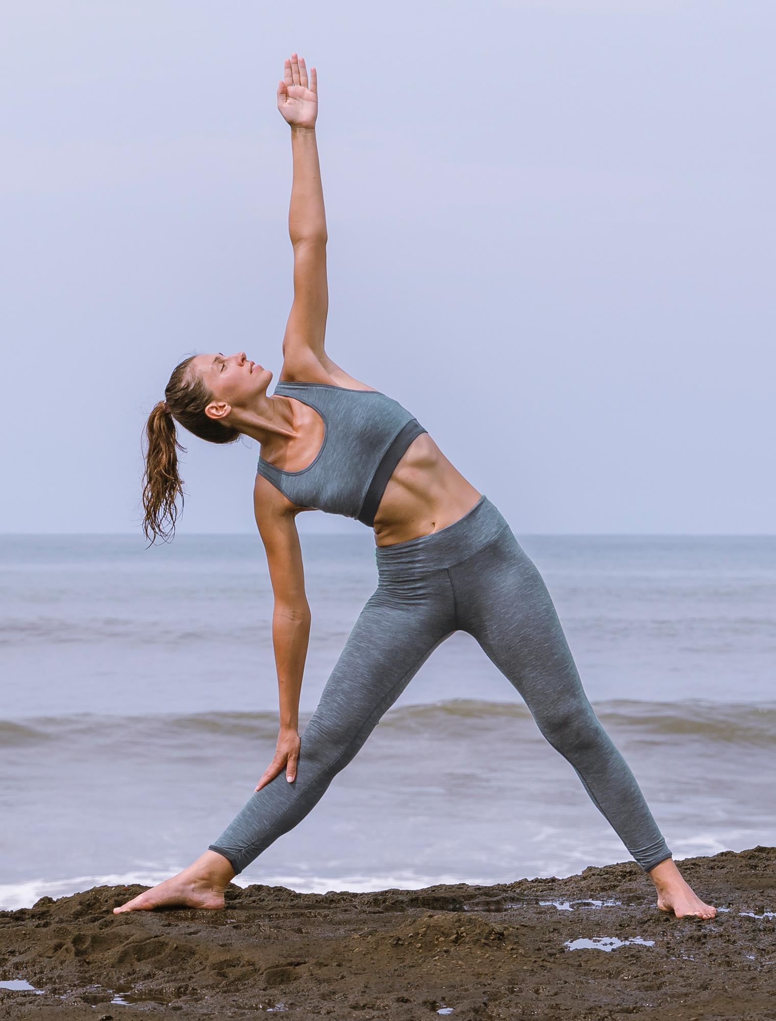 """Yoga-Bra """"Bobby"""" - orionblue melange"""