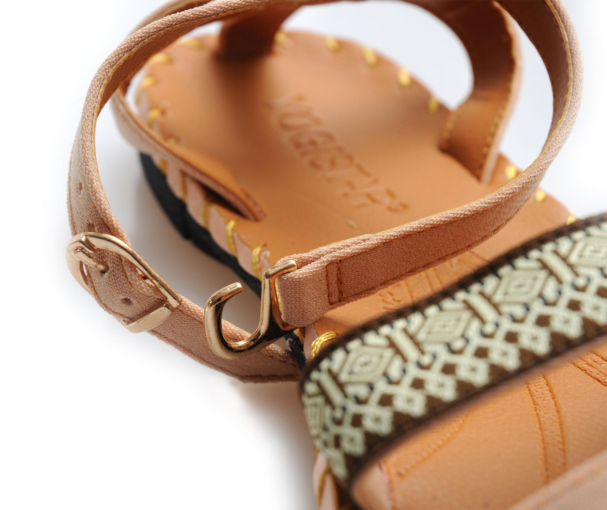 Yoga-Sandalen easy strap - beige