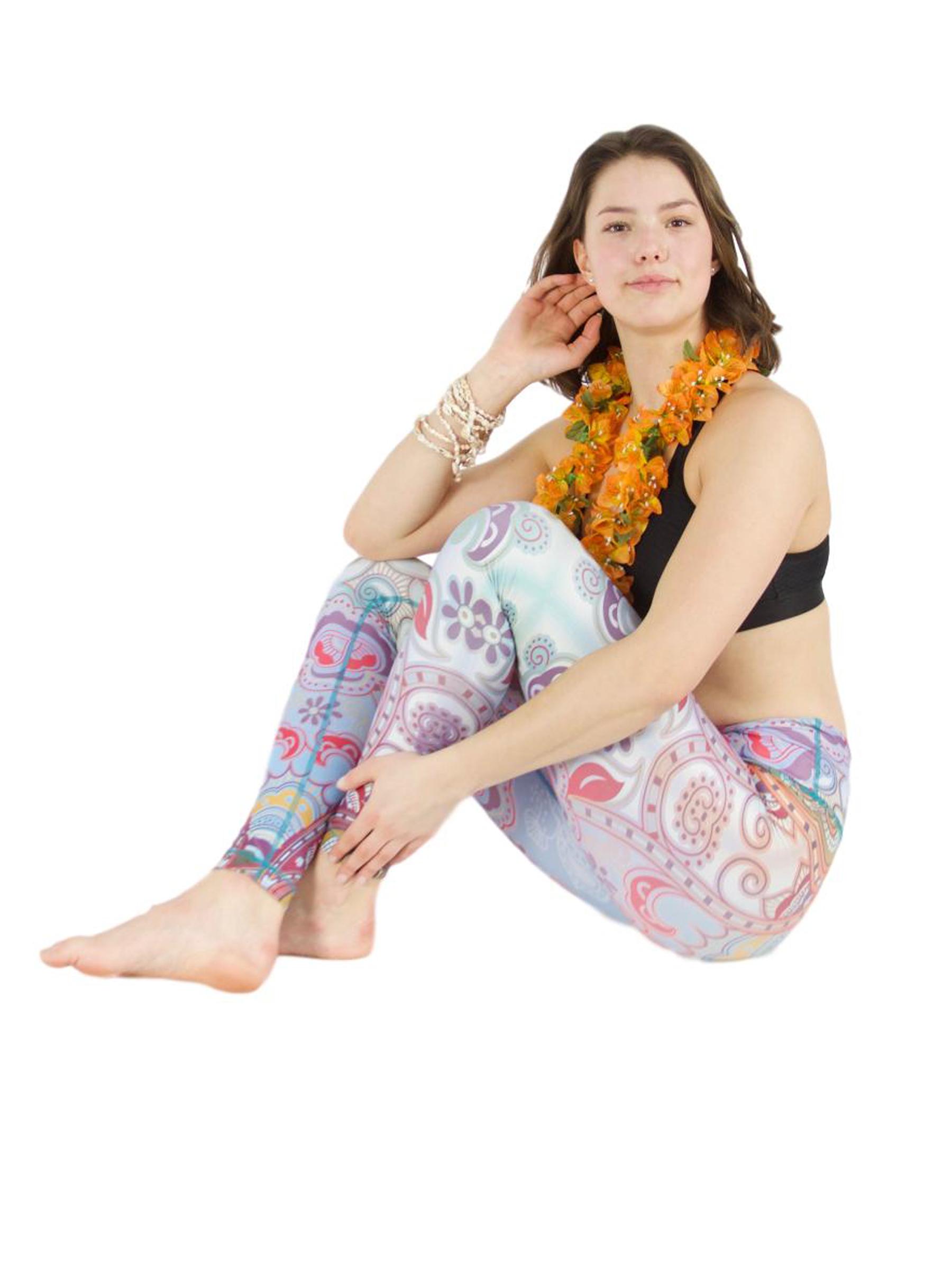 "Yoga-Leggings ""Ibiza Days"""