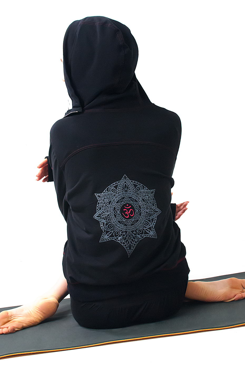 "OM-Hoody ""Cool Down"" - black"