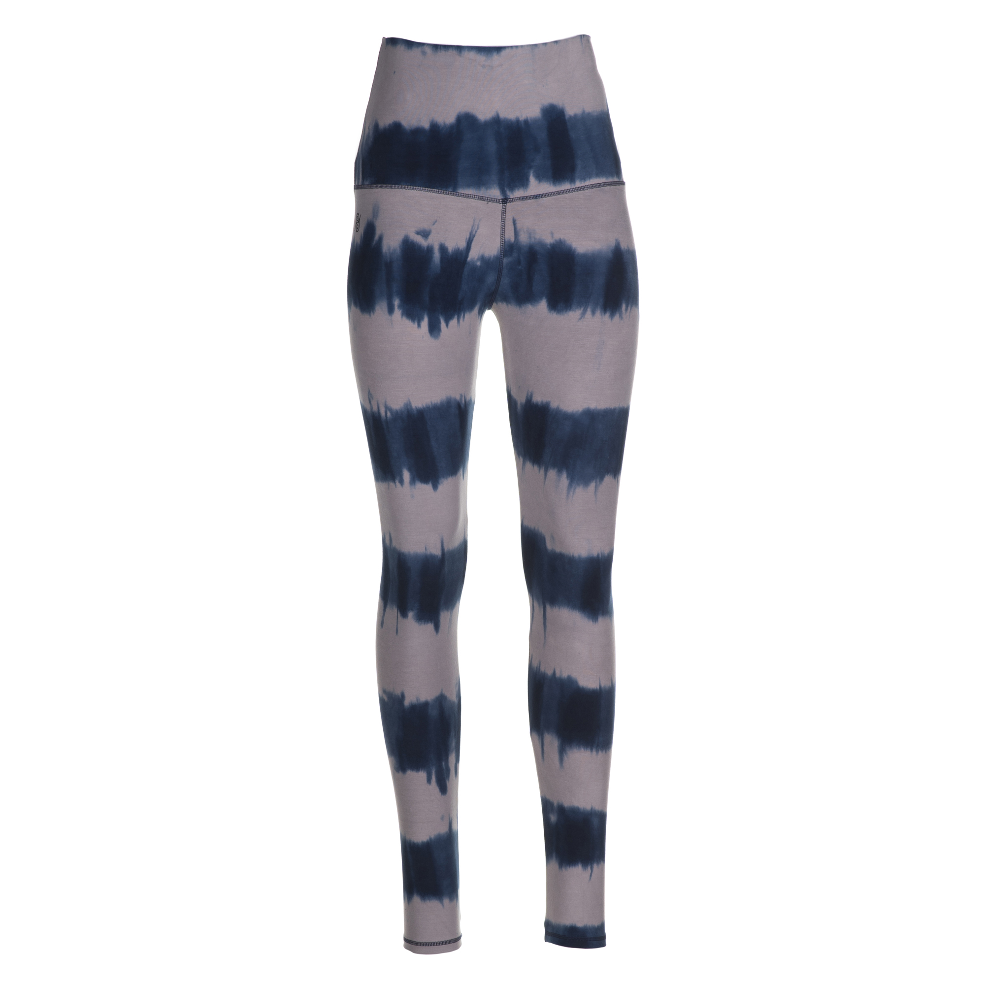 "Yoga-Batik-Leggings ""seashore"" - grau/blau"