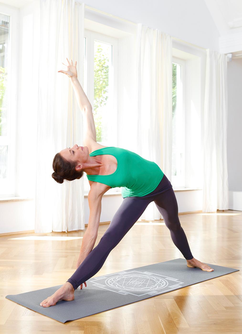 Yoga Mat Basic Sri Yantra