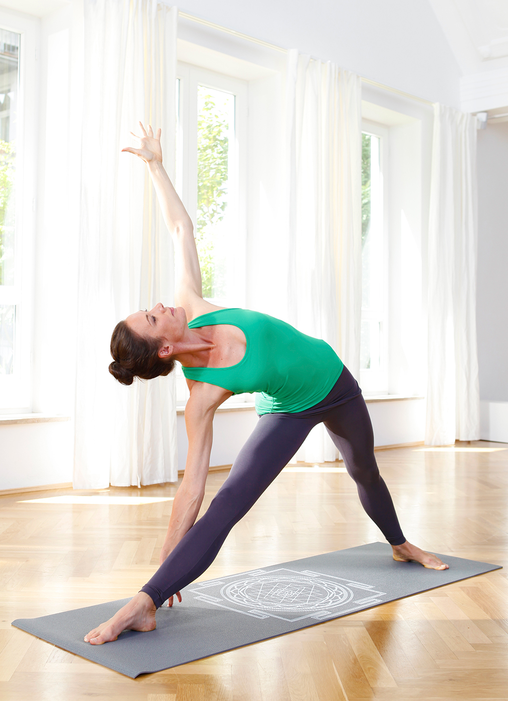 Yogamatte basic Sri Yantra
