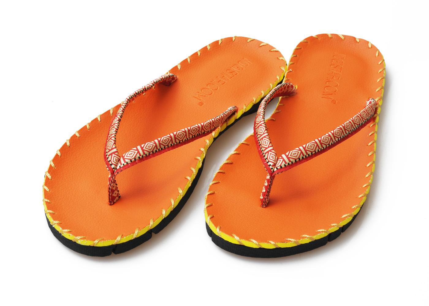 Yoga-Sandalen - orange