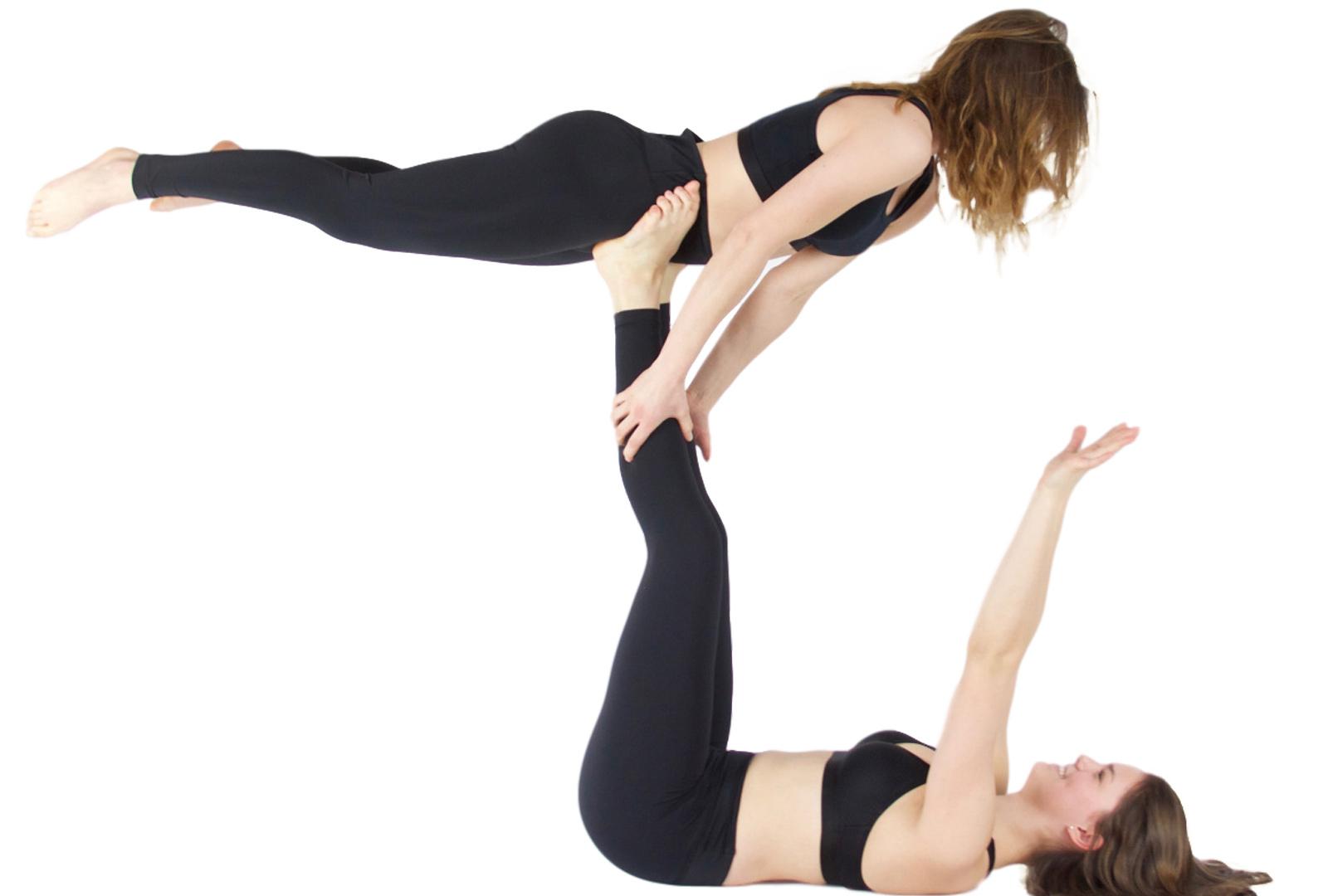 """Yoga-Leggings """"Basic"""" - black"""