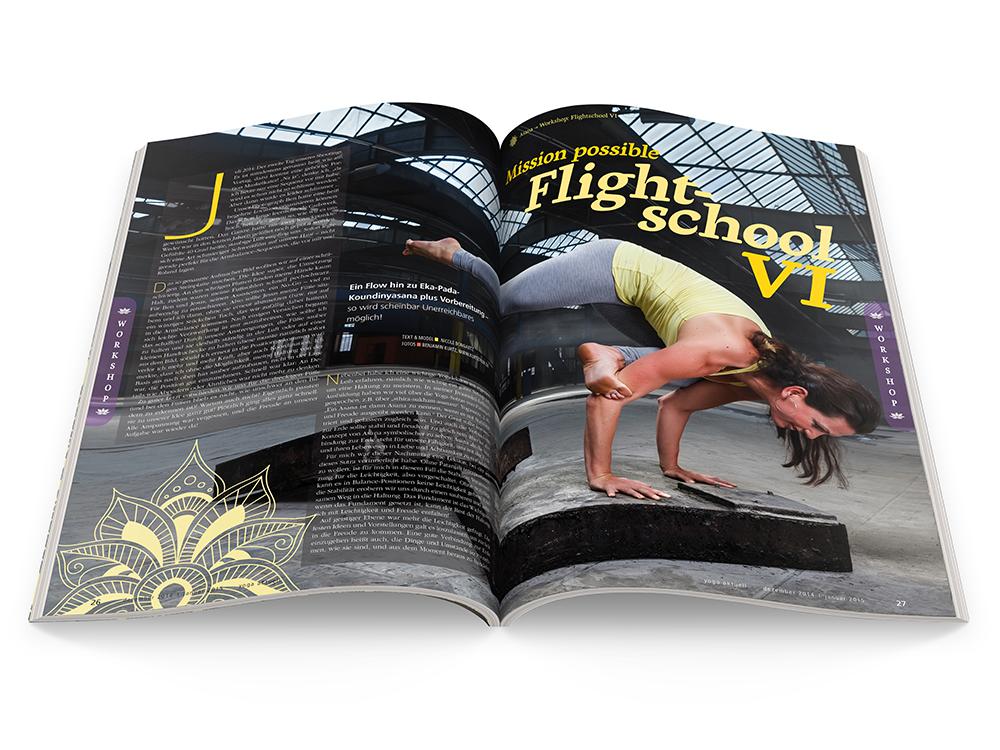 Yoga Aktuell 89 - 06/2014