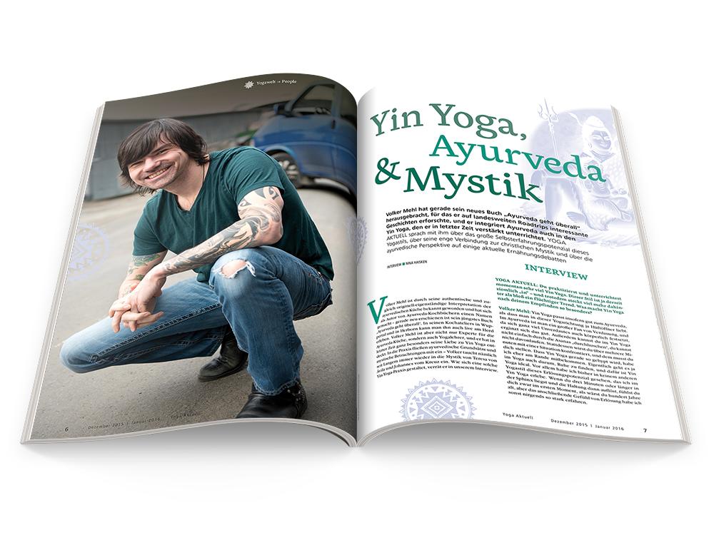 Yoga Aktuell 95 - 06/2015