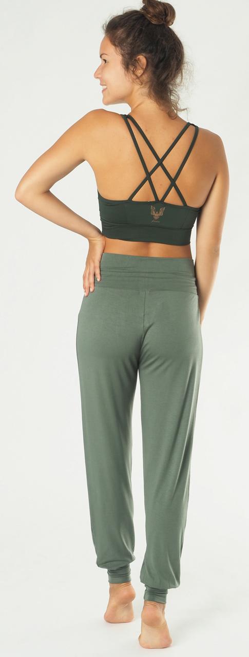 "Yoga-Pant long ""Padmini"" - jade"
