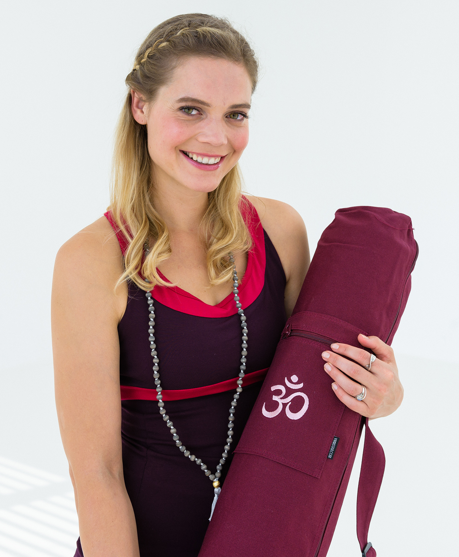 Yogatasche yogibag® basic - zip - cotton - art collection - 65 cm