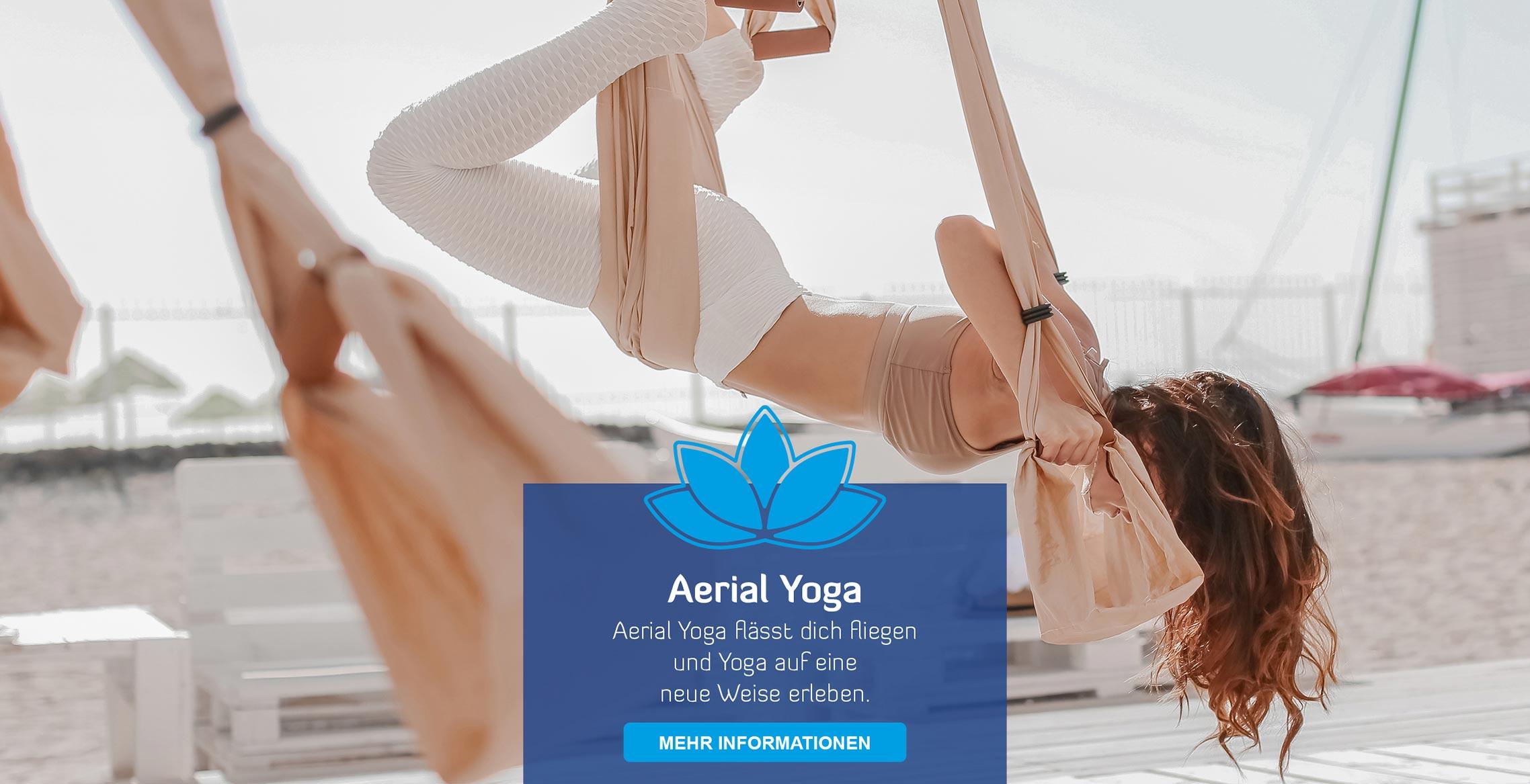Startseite Teaser Aerial Yoga