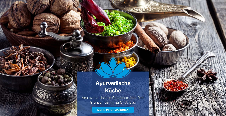 Startseite Teaser ayurvedsiche Küche